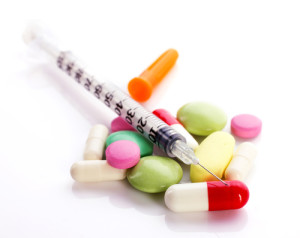 Capsule with Insulin