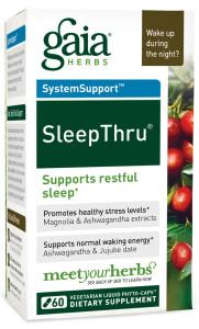 Gaia Herbs' SleepThru