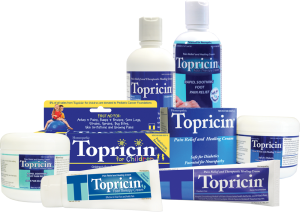 Topricin products group
